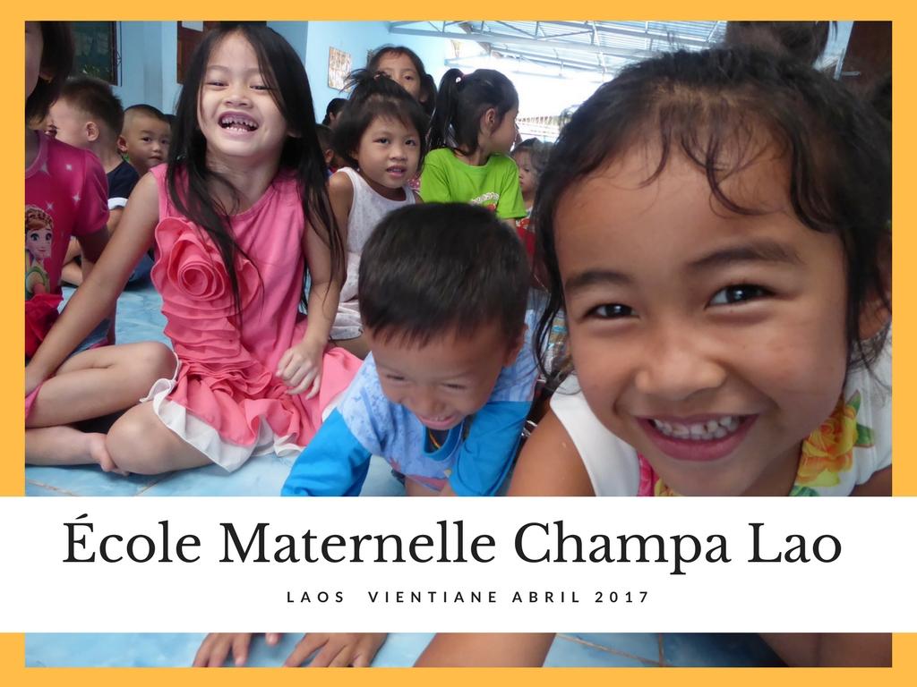 ecole maternelle champa lao