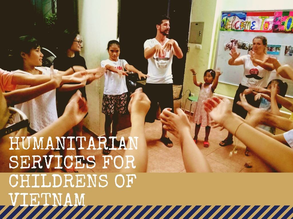 humanitarian services for childrens of vietnam