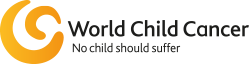 logo world child cancer